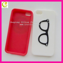 High quality popular 3d silicone cat case for iphone 5 in various designs at cheap price