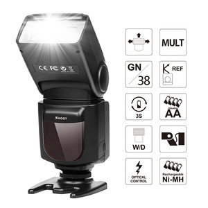 Popular DSLR Camera Speedlite SHOOT Photography Camera Flash LED Wireless Trigger Flash with LCD Screen for Canon/Nikon