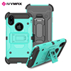 IVYMAX newest Holster combo case with attached kickstand case for Apple iphone X case