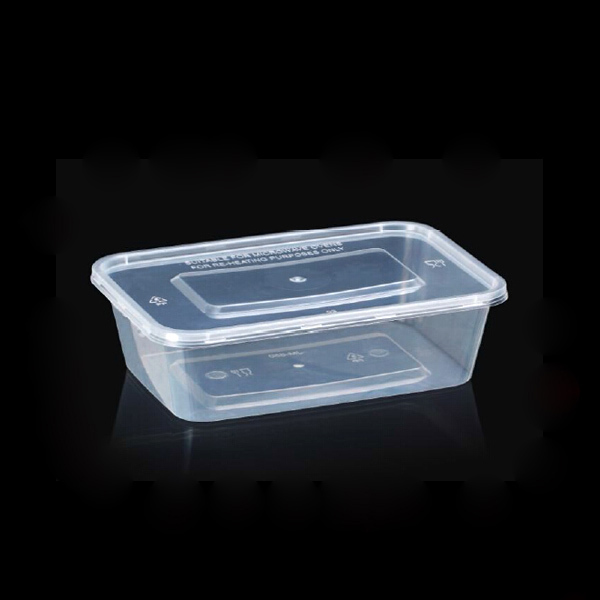 Plastic Attached-lid Storage Container
