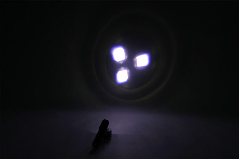 Kleine batteriebetriebene led licht high power led taschenlampe