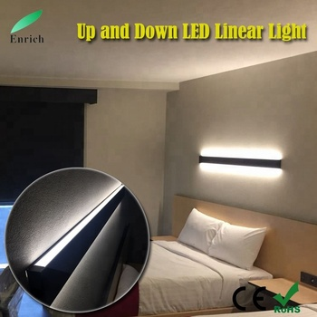 Led Up And Down Linear Light Direct Indirect Lighting Fixture Trunking