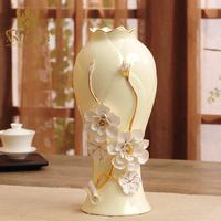 ANLUNOB Exquisite European Large Chinese Jade Porcelain Vase