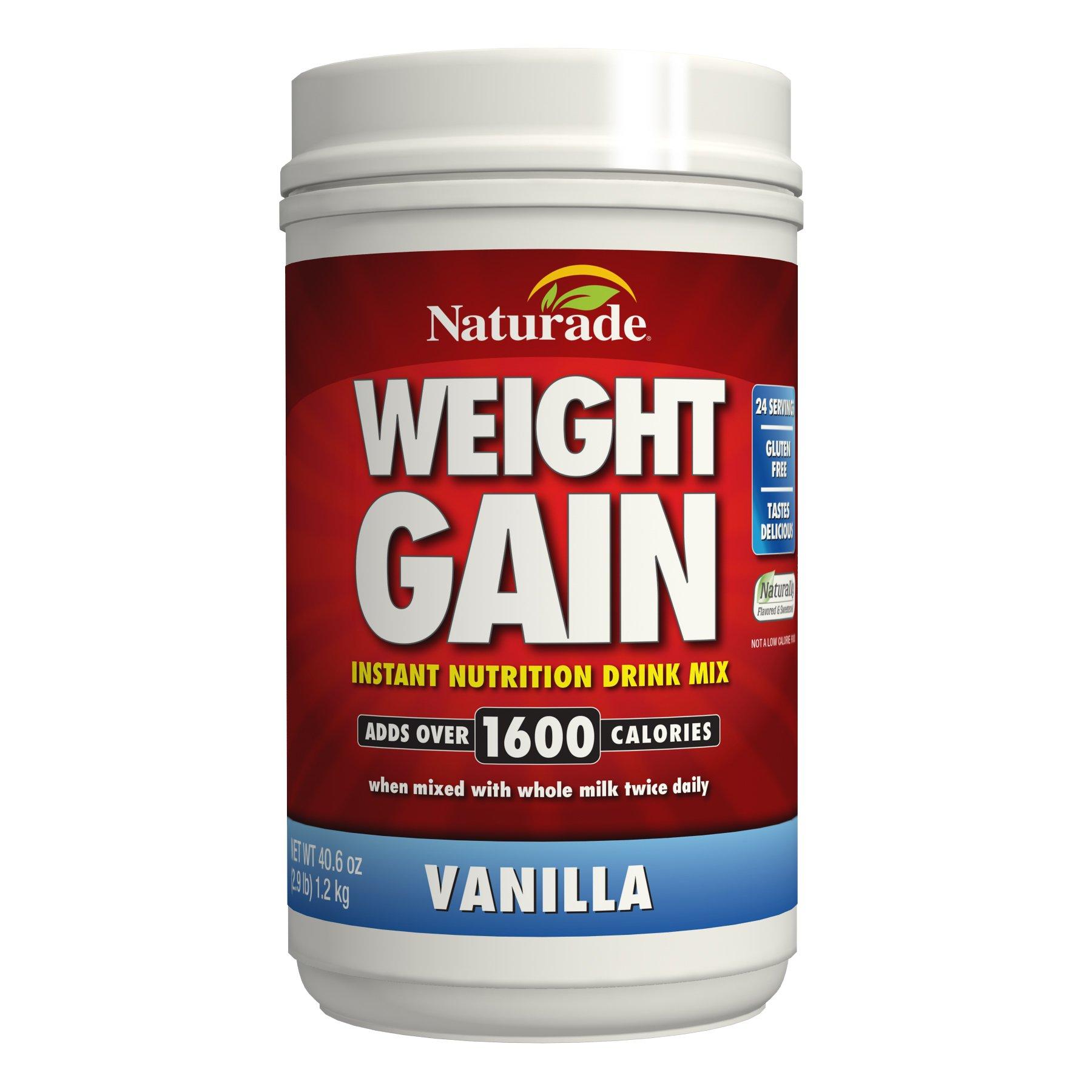 Naturade Weight Gain Vanilla – 40.6 oz
