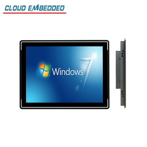 CLOUD EMBEDDED Factory Price 3mm 15 inch industrial monitor