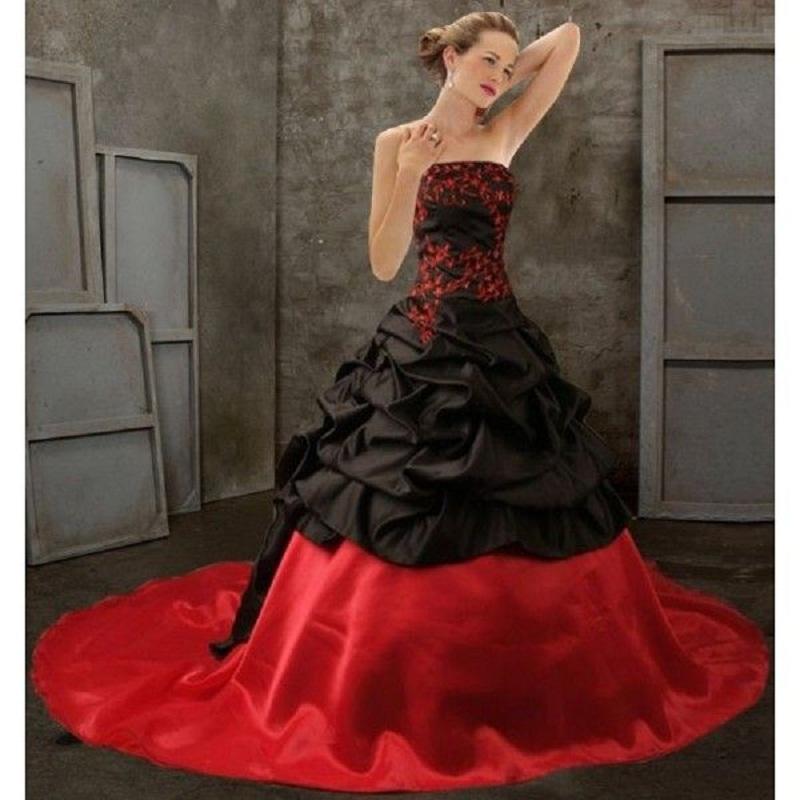 Vintage Wedding Dresses Bay Area: Victorian Gothic Wedding Dress Promotion-Shop For