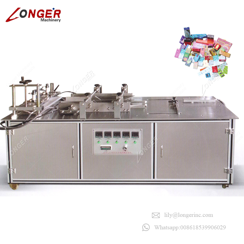 Factory Supply Industrial Semi Automatic Small Cellophane Manual Wrapping Machine