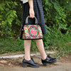 2016 high quality chinese tote bag newest lady classic embroidery handbag