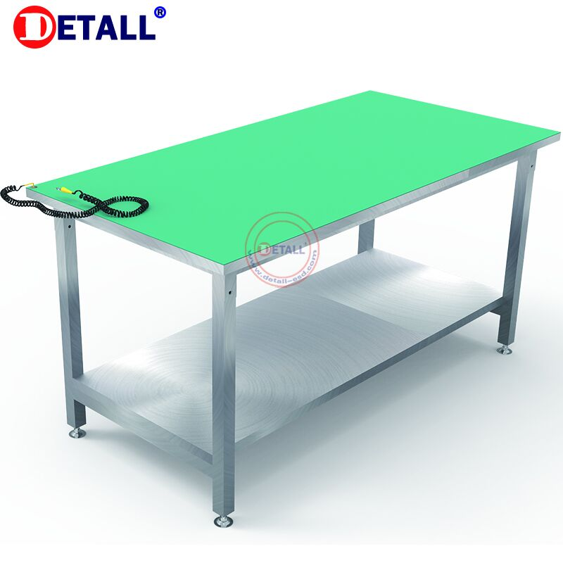 Heavy Duty acier inoxydable mobile table de travail de table inox