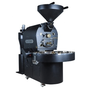 Wintop Santoker 15kg commercial coffee roaster and afterburner for sale / coffee roasting equipment full set for sale