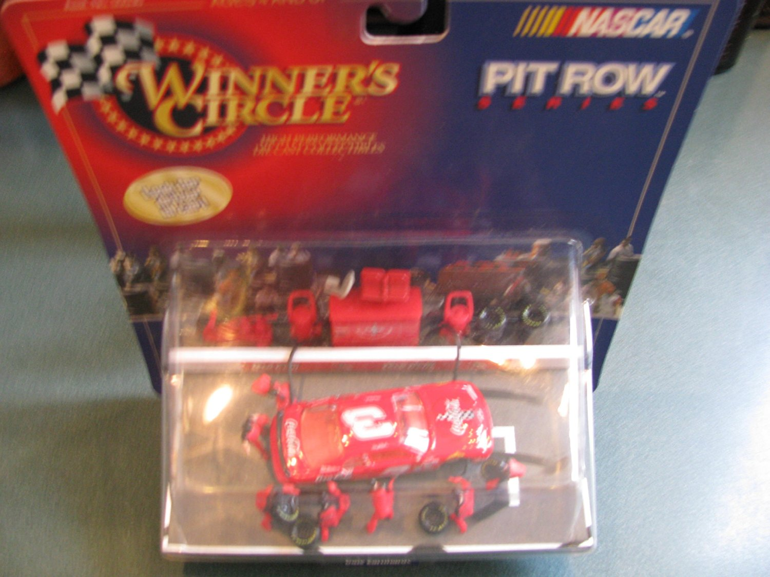 Dale Earnhardt Sr #3 Red Coca Cola 1998 Monte Carlo 1/64 Scale Diecast Pitroad Pit Row Scene Series 1st Head to Head Race With Dale Jr Motegi Japan Winners Circle