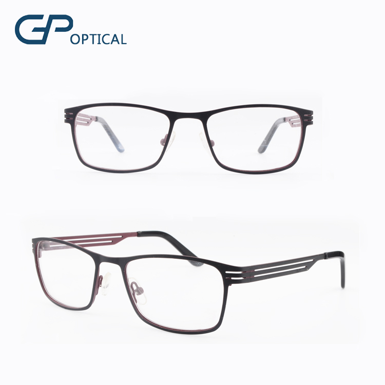 GP1172 Classic 2015 good quality metal eye glass new design optical eyeglasses frame