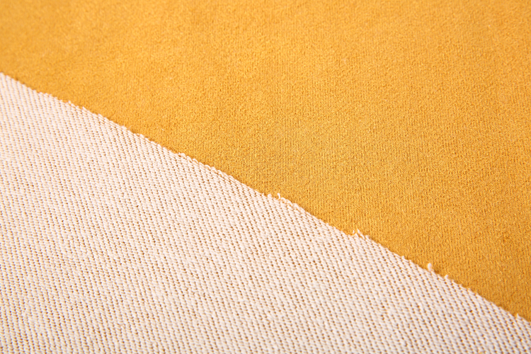 Soft feeling suede sea island cotton fabric terry cotton fabric knitting