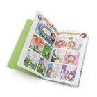 Free printed custom design short story coloring comic books for kids