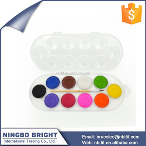 Bulk wholesale art supplies promotion water color paint cake