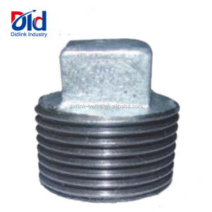 Pipe Fitting Steel Supplier Hose Joint And Line Plumbing Reducer Tee Galvanized Malleable Iron Plug