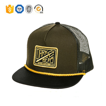 782c45359720a Wholesale custom Blank 3d embroidery patch design cotton mesh trucker hat  cap