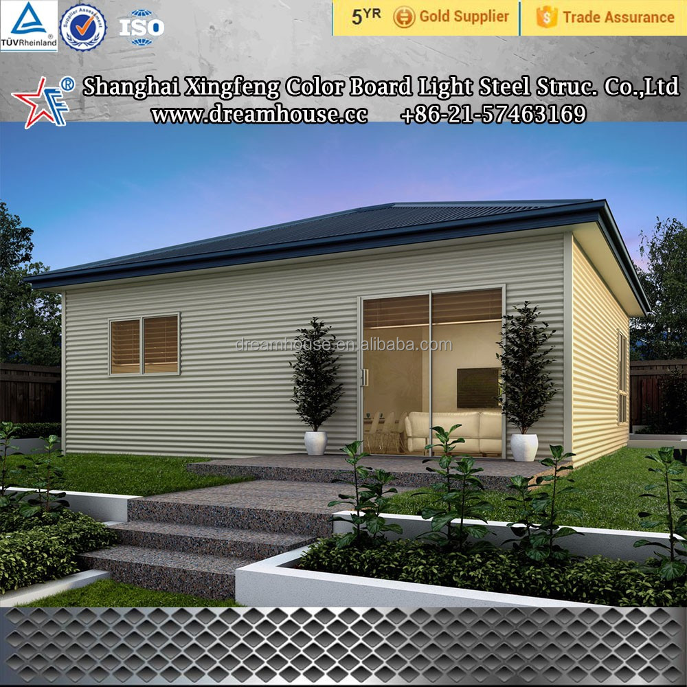 Custom built prefabricated modular house/Living three bedrooms prefab houses/Single-storey Prefabricated homes