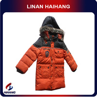 Winter orange name brand kids clothes