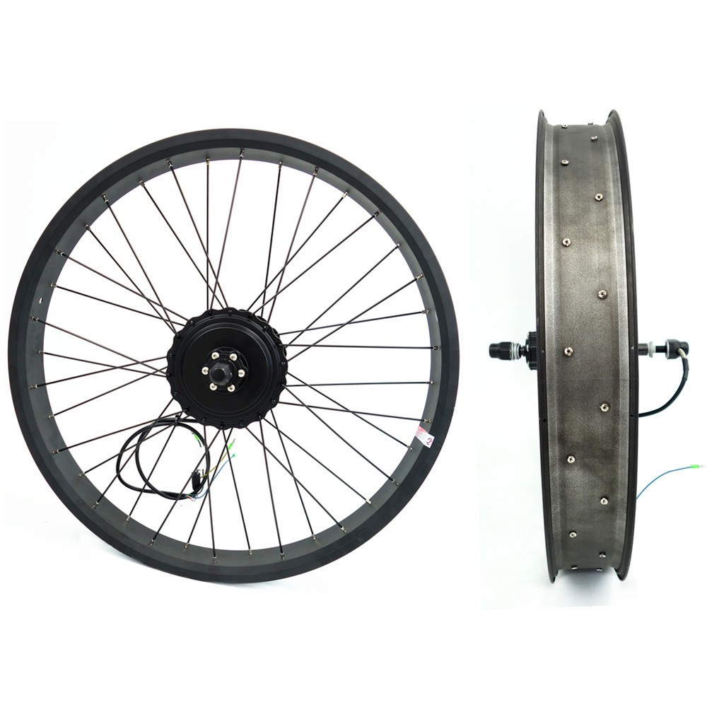 Hub motor electric bike conversion kit
