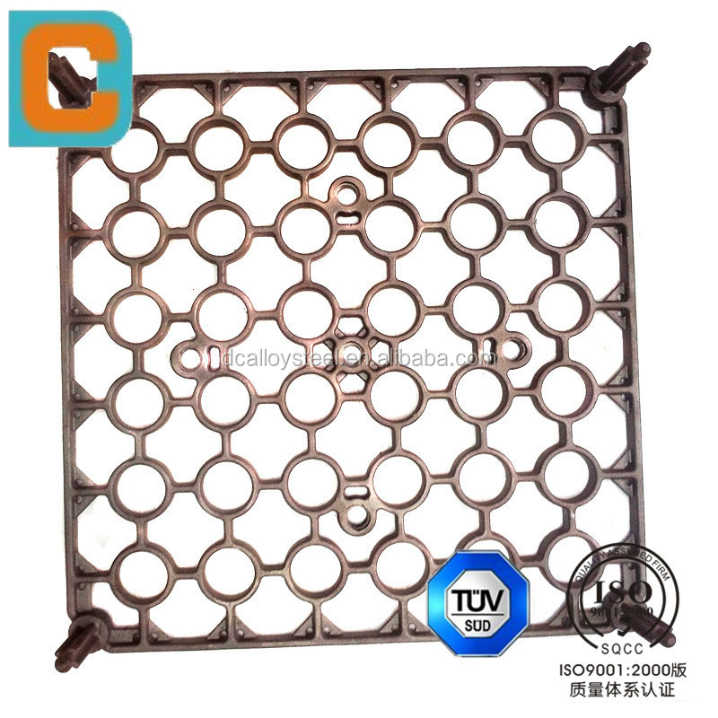 OEM high quality lost wax casting Steel casting of heat-resistant trays