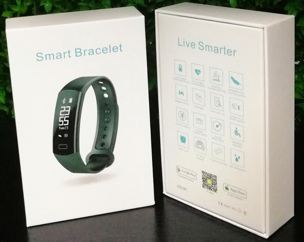 Smart Band Heart Rate Monitor Pedometer Fitness Smart Bracelet Smart Wristband Watch