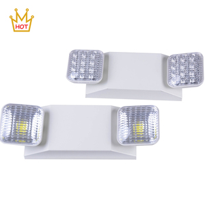 High power double head super bright COB led emergency lights