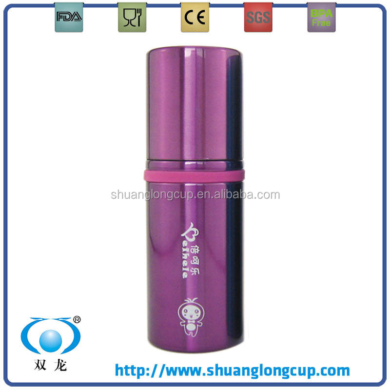 Customized Creative Double Wall Stainless Steel Thermo Mug, Lipstick Tube Shape / Thermo mug, vacuum mug & coffee to go cup