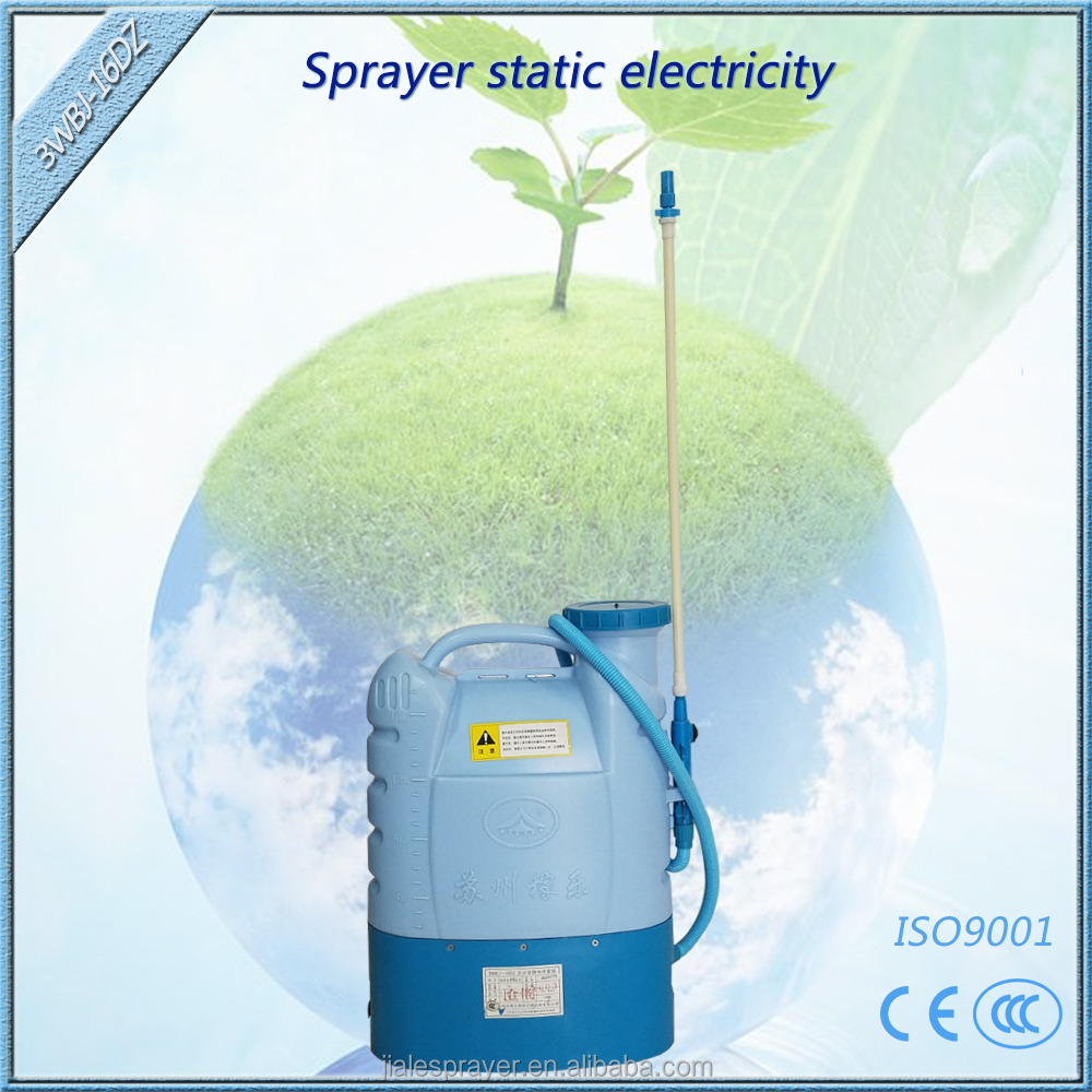 16liters 12volt suzhou new technology agricultural application battery electrostatic sprayer