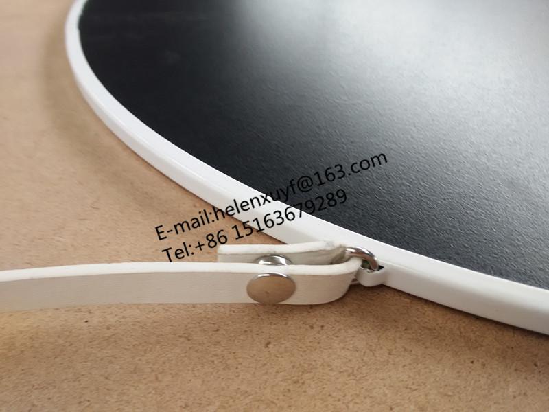 Weiß 50x50 cm runde metall rahmen hängen spiegel mit kette oder ...