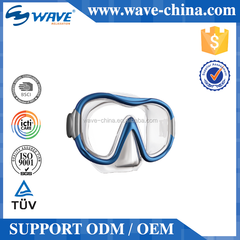Scuba diving equipment tempered glass wholesale diving mask