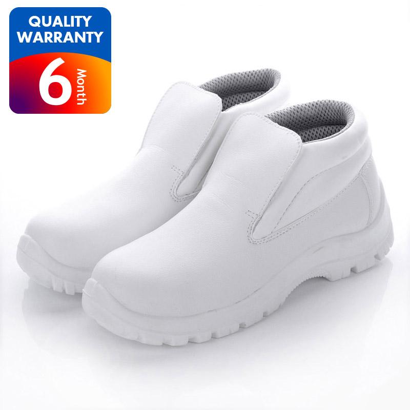 Cleanroom White Steel Toe Anti Static