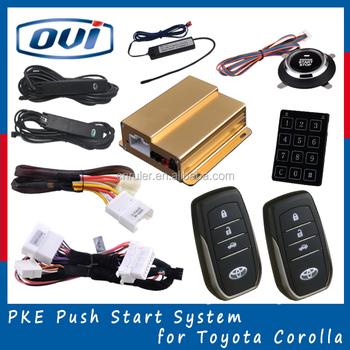 For Toyota Corolla 2015 Pke Pke Keyless Entry Start Pke Push ...
