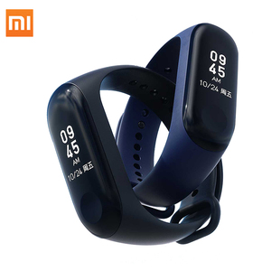 Image of Original Xiaomi mi band 3 Smart Heat Rate Fitness Bracelet Tracker Global Version Waterproof OLED Touch Screen Band 3
