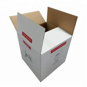 Custom Made Logo Printed Corrugated Paper Carton Shipping Box