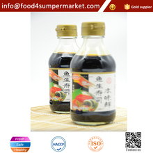 Japanese and Flavorful natural brewed dark soy sauce for udon ramen noodles