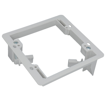 2 gang Dual Gang plastic Low Voltage Mounting Bracket for wall face plate