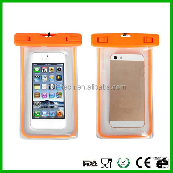 Universal Waterproof Pouch Dry Case Cover For 5.5 inch Phone Camera Mobile phone Waterproof Bags for IPhone 4 4S 5 5S 6 6S PLUS