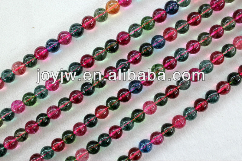 smooth loose crystal beads stock wholesale