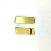 Factory Custom Messing Material Metall <span class=keywords><strong>Gold</strong></span> Farbe Bargeld Clip Pinsel Metall Messing Geld Clip