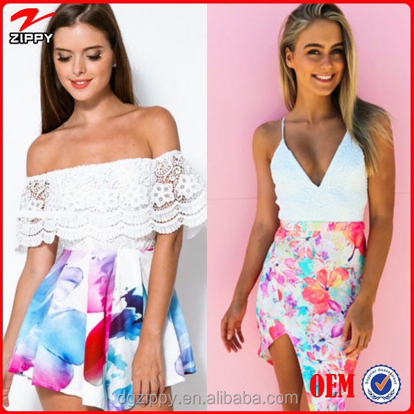 Wholesale Ladies Summer Casual Printed Maxican Fashion Floral ...
