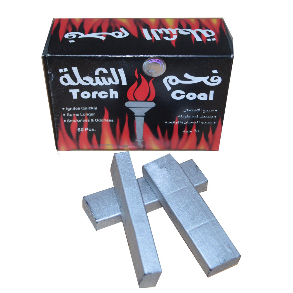 Hong qiang silver instant light Indonesian Hookah charcoal