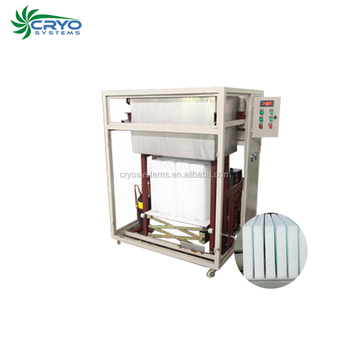 Hot sale direct system fully automatic system dry ice blasting machine ice block making machine sold in uganda