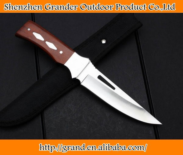 Sanding surface HK--309B fixed blade knife straight knives 4488