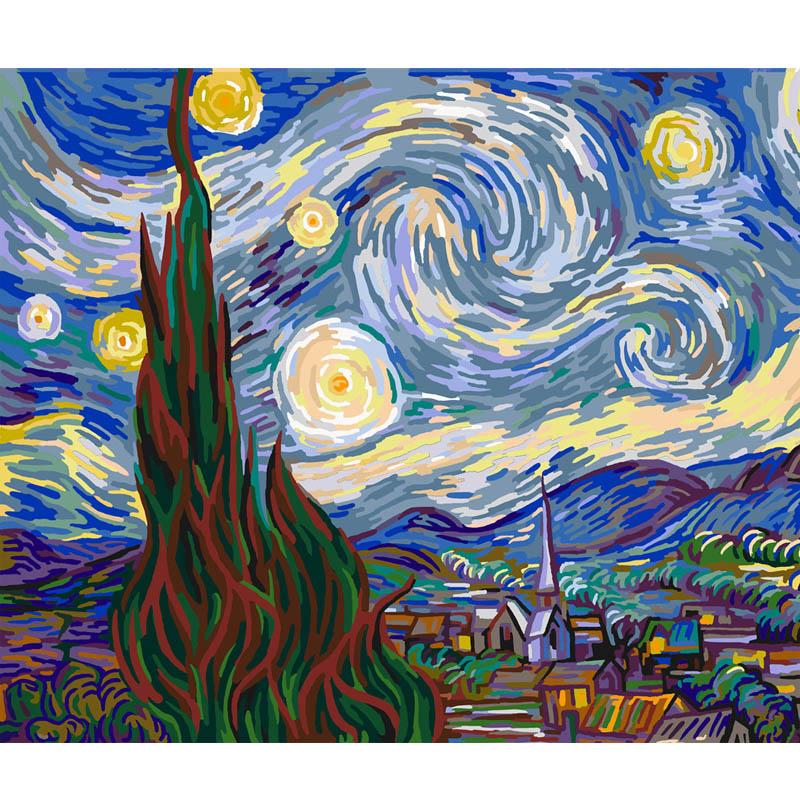 Cielo Della Stella Van Gogh Dipinti Astratti Famoso Dipinto - Buy ...