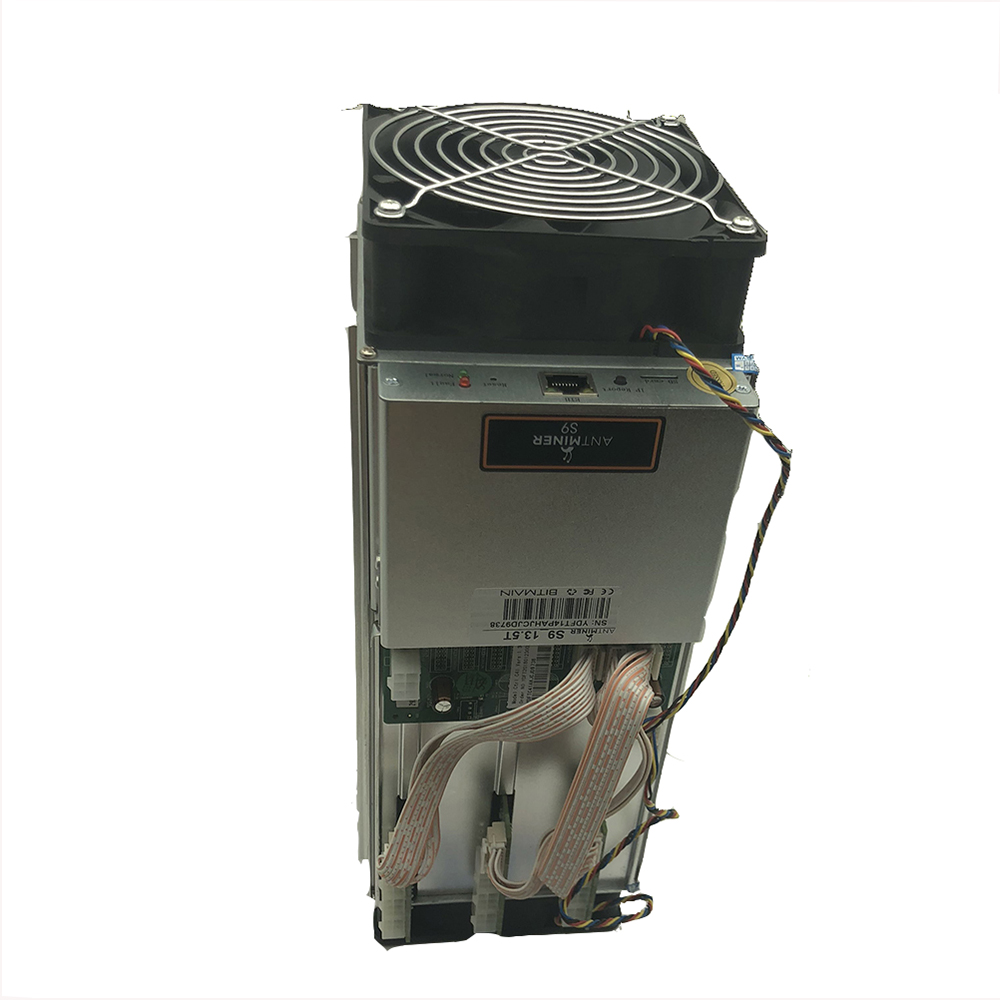 Used Miner Antminer S9 14.5T Antminer S9 Used Bitcoin Mining Machine