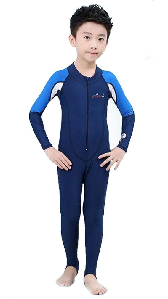 f5c40b8e86 Get Quotations · Sun Protection Swimwear Stinger Suit Full Body Swimsuit  for Boys and Girls
