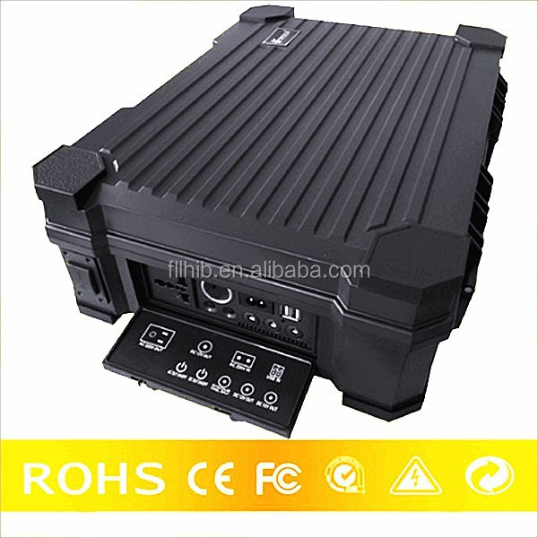 Solar power storage battery 12v48ah for Ourdoor AC and DC appliances
