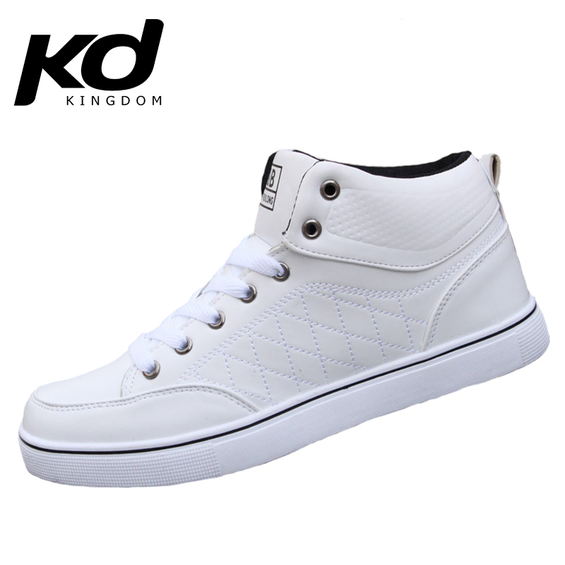 High Top Men Shoes  White Shoes Mens Fashion Sneakers Man Boots Casual Leather zapatillas Stan Smith janoski huaraches