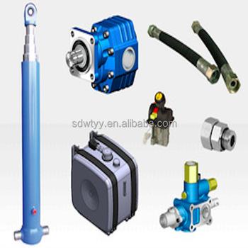 Dump Truck Hydraulic Cylinder Parts / Dump Truck Hydraulic Cylinders  /hydraulic Telescopic Cylinder For Tipper Truck - Buy Hydraulic Telescopic